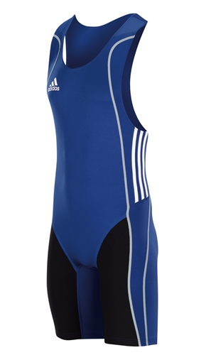 Adidas W8 Weightlifting Suit For Men Cobalt Blue Black White