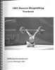 1983 Russian Weightlifting Yearbook
