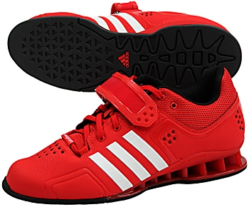 Adipower Weightlifting Shoes Red Uk