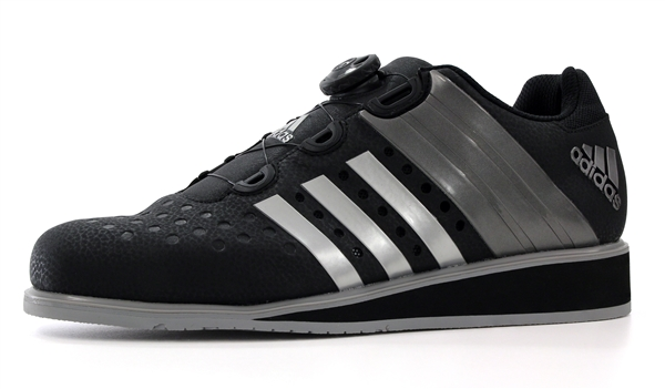 adidas drehkraft Weightlifting Shoes black silver iron a5be50694
