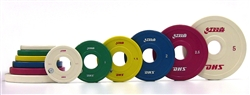DHS 1kg Increment Rubberized Competition Weight Set