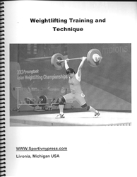 Weightlifting Training and Technique (several authors)